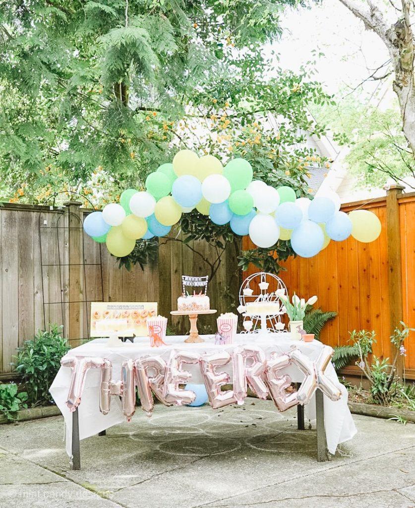 Dinosaur Themed Third Birthday Party