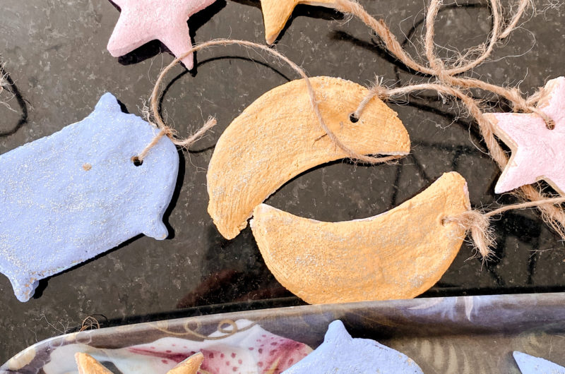 Easy Salt Dough Ornaments to Make With your Kids