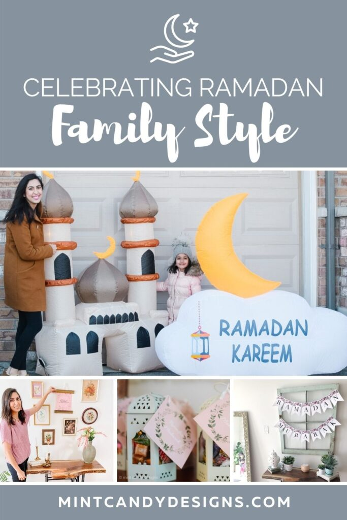 Ramada decor for families, handmade gift ideas, free printable and more!